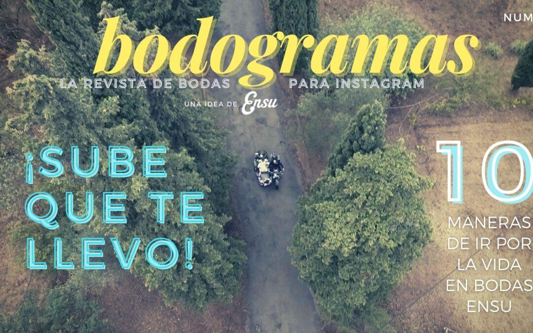 Lanzamiento de Bodogramas, la revista de bodas para Instagram