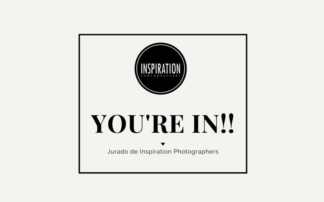 Estás dentro. Eres jurado de Inspiration Photographers