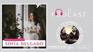 Vestidos de novia e invitadas con Sofía Delgado